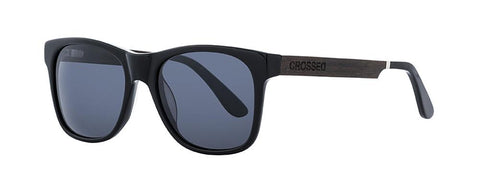 Alex Pastor Kite Club - Airush Kite Shop Tarifa sunglasses Crossed Lupus 07 - Black/Black