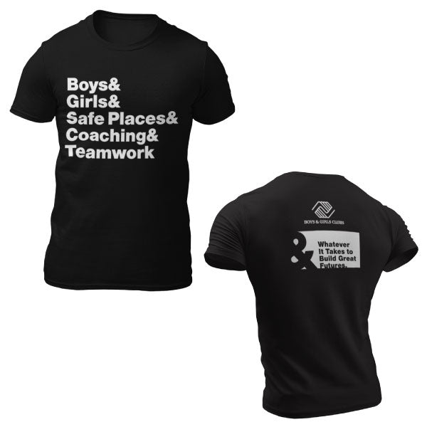 SAFE PLACES & COACHING & TEAMWORK TSHIRT
