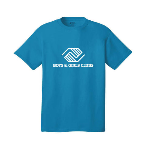 Youth Neon Blue Bright Tshirts