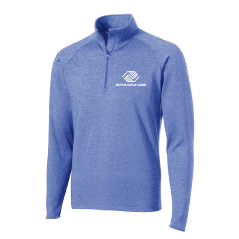 Mens Sport-Wick Stretch 1/2 Zip Pullover