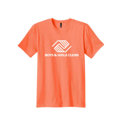 Youth Neon Orange Bright Tshirts