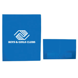 Plastic 2 Pocket Folder