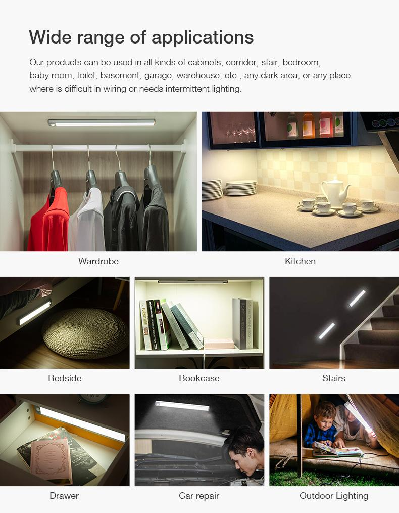 LED Motion Sensor Under Cabinet Light
