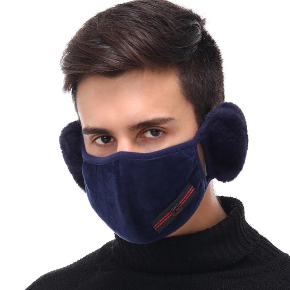 Winter Face Mask & Ear Muff
