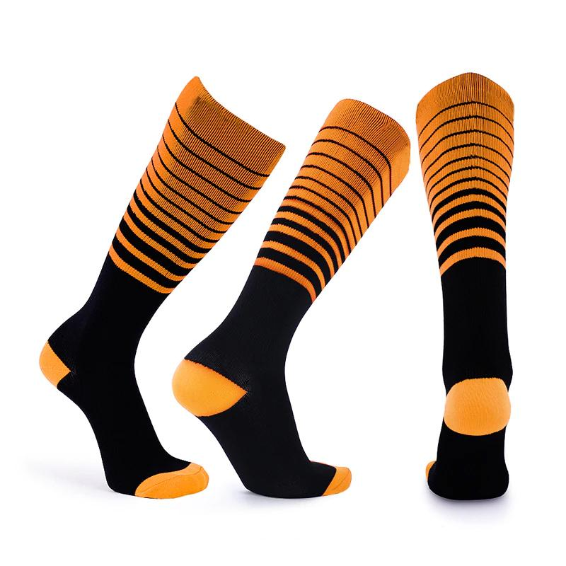 Compression Stripes Unisex Socks - 3 & 6 Pairs + Free 2 Pairs