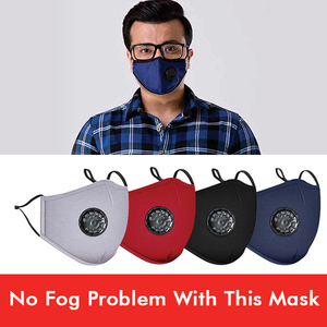 Anti Fog Reusable Face Mask