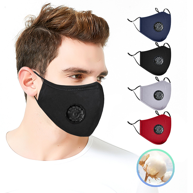 Reusable Filter Mask - Smooth Breathability & Extra Comfort