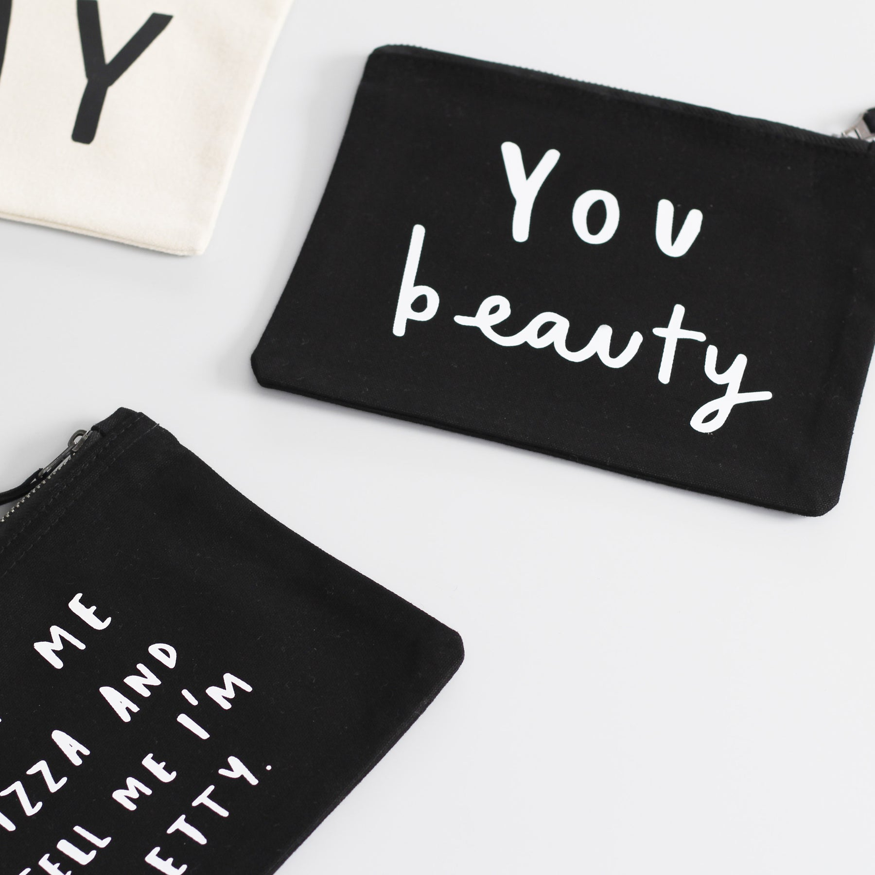 Our brand new make up pouches!