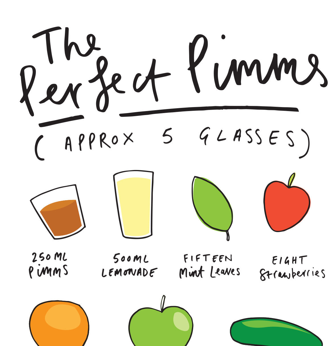 The Perfect Pimms Recipe