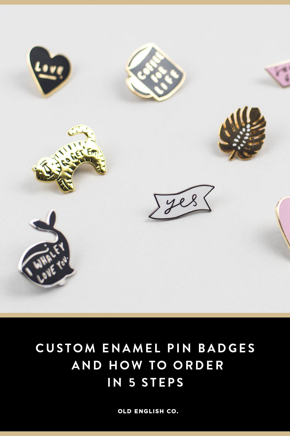 Custom Enamel Pin Badges and How To Order In 5 Steps