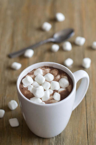 Mug Filled With Hot Chocolate