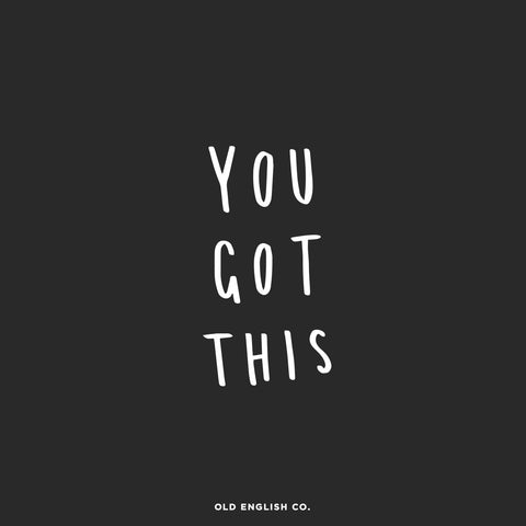 You got this motivational hand lettered quotes