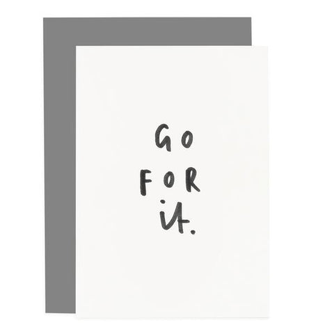 Go For It Card