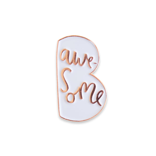 Brand New Enamel Pin Badges! — Old English Company - Hand Lettered Goods