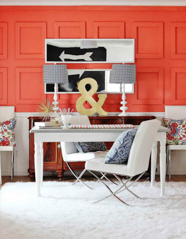Living Coral Interior Decor