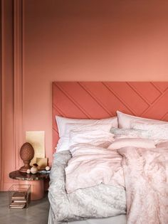 Living Coral Bedroom Inspiration