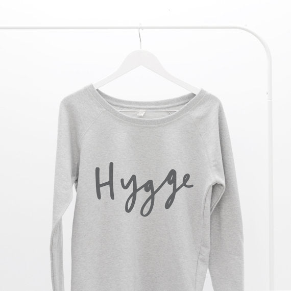 Hygge Oversized Sweater Letter Clothing Co