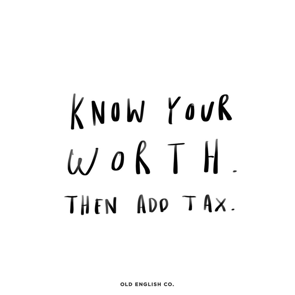 Know Your Worth Quote Image