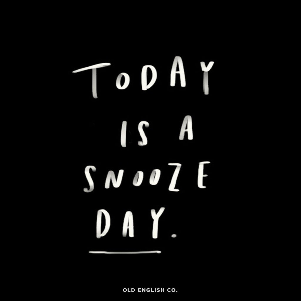 Snooze Day Quote Image