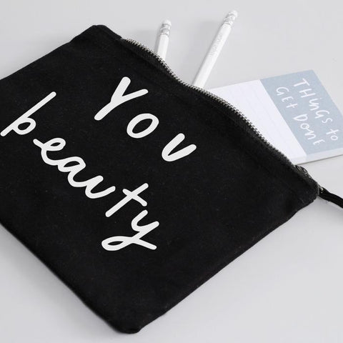 You Beauty Make Up Pouch