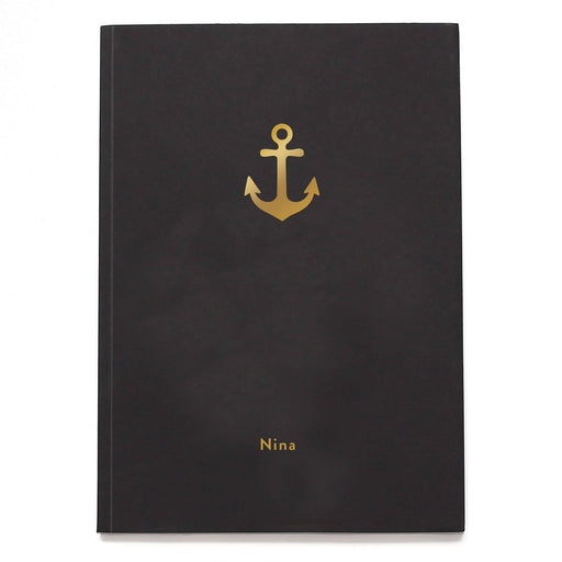 Anchor Personalised Notebook