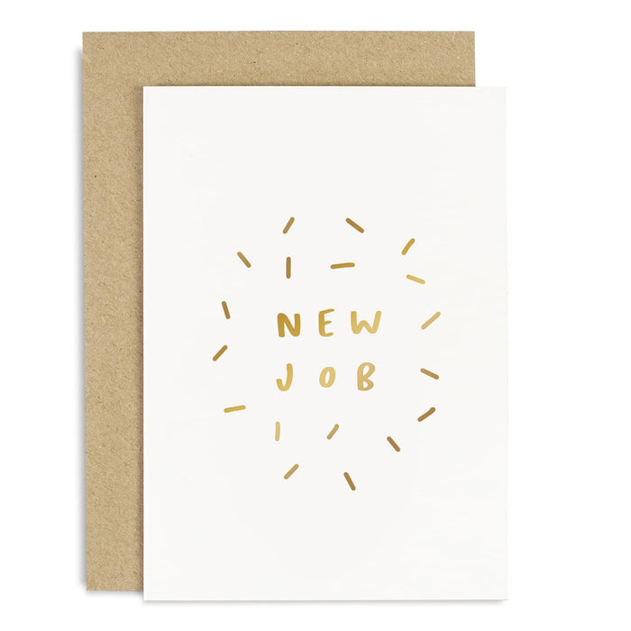 New Job Confetti Card