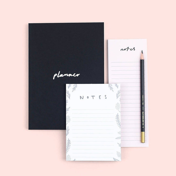 Notepads and notebooks