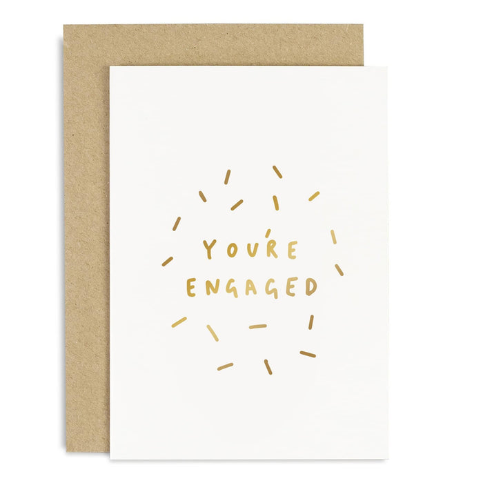 You're Engaged Confetti Card
