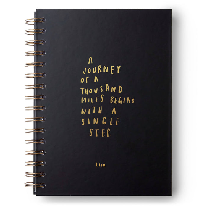 Journey of a Thousand Miles Hardback Notebook