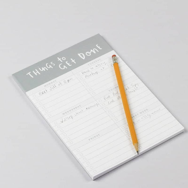 things to get done A5 notepad