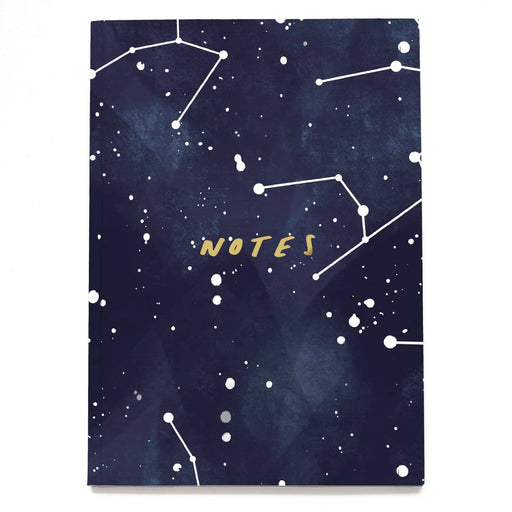 Star Constellation Linen Notebook - A5NB10
