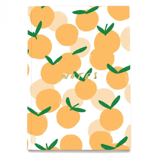 Fruit Peach Linen Notebook - A5NB11