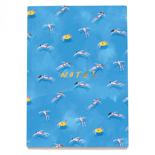 Swimmers Linen Notebook - A5NB13