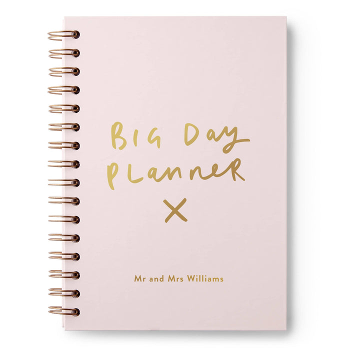 Big Day Wedding Hardback Notebook