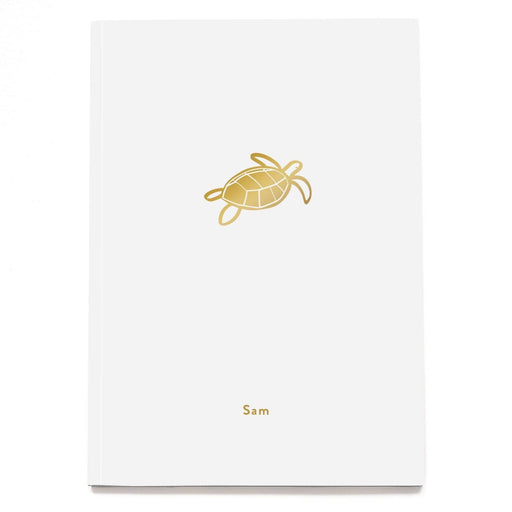 Turtle Personalised Notebook