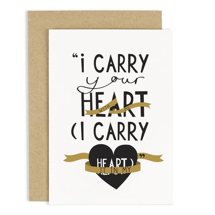 carry your heart card