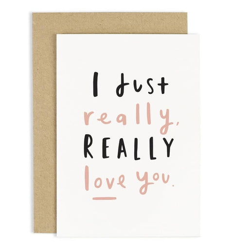 really love you card