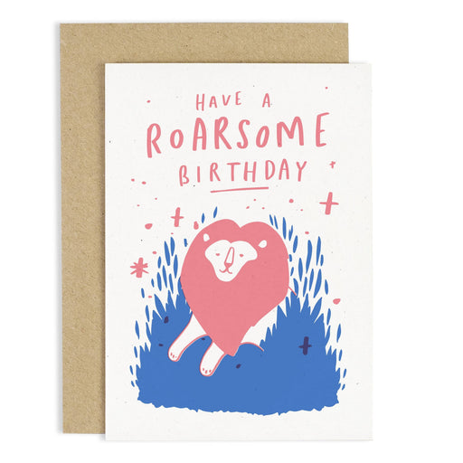Roarsome Birthday Lion Card