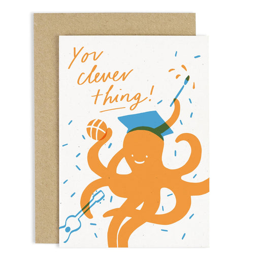 You Clever Things Graduation Card