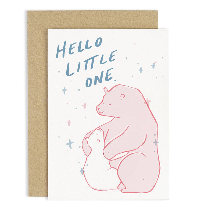 Hello Little One Baby Card