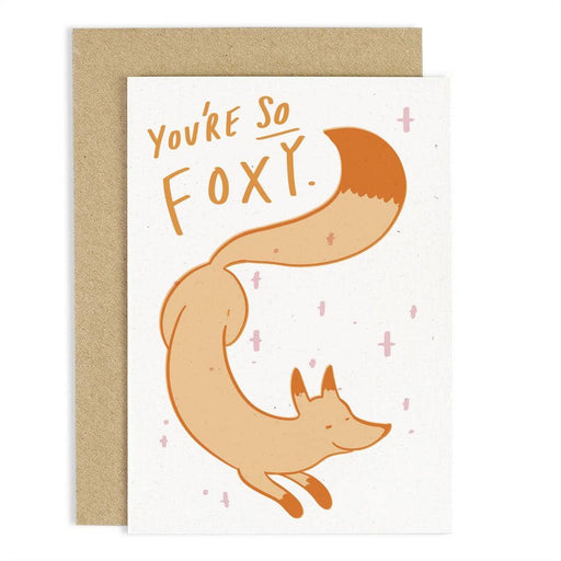 CCB15 You're So Foxy Card