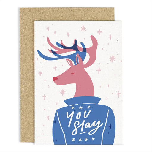 CCB17 You Slay Reindeer Card