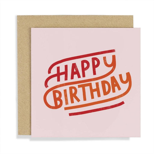 CCBT04 Happy Birthday Card