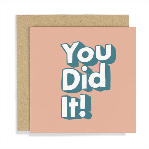 CCBT06 You Did It Card