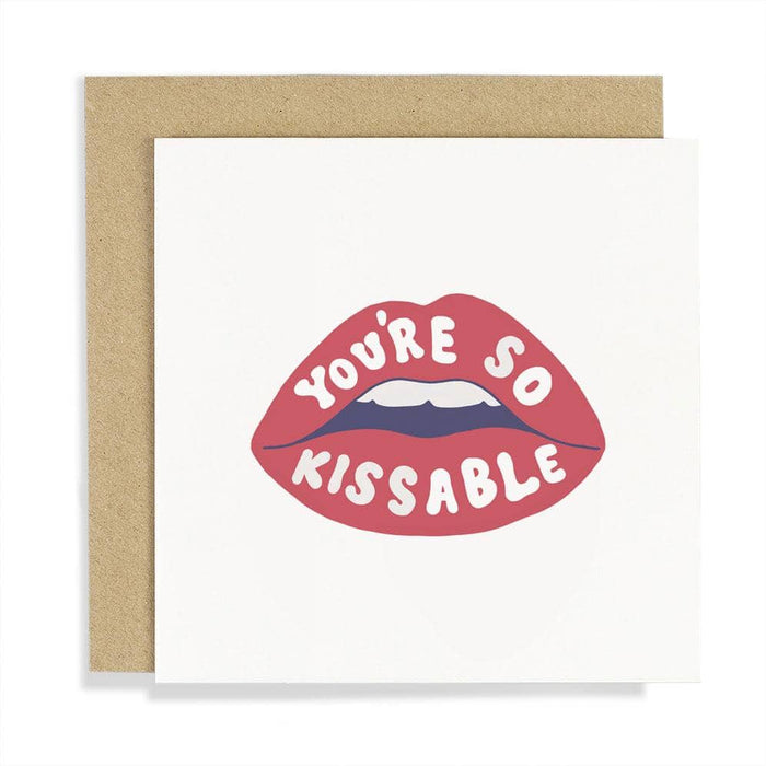 You're So Kissable Card