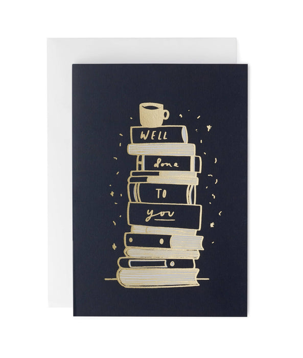 Well Done Study Books Greeting Card