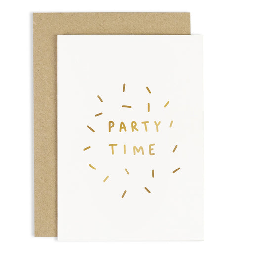 Party Time Confetti Greeting Card