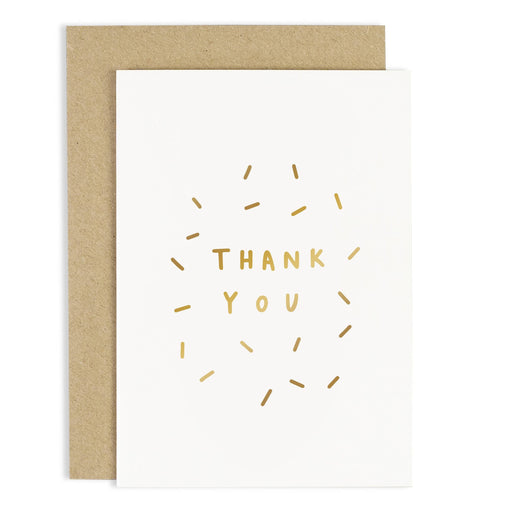 Thank You Confetti Greeting Card