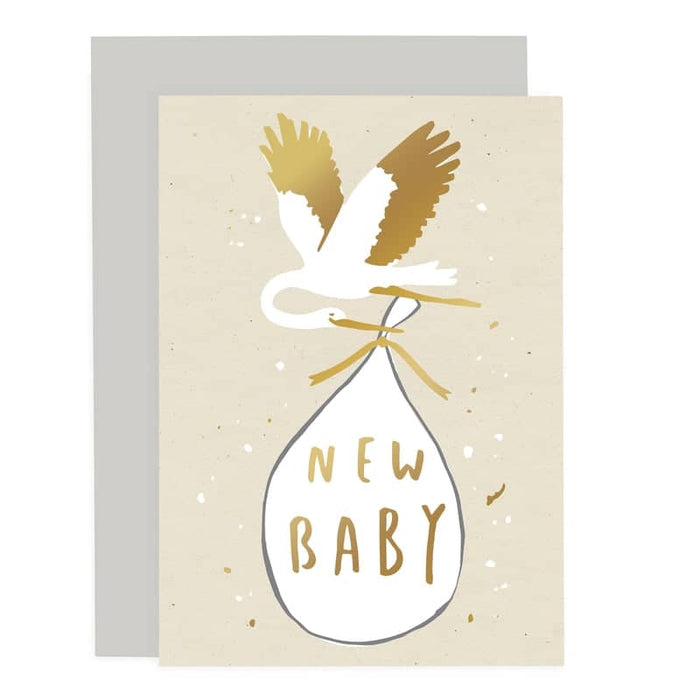 new baby stork card