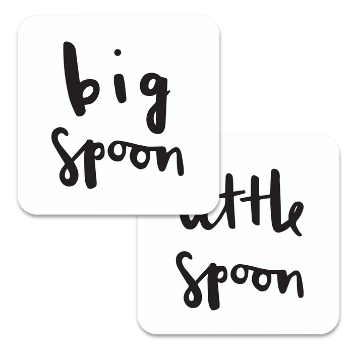 Big Spoon Little Spoon Coaster Set